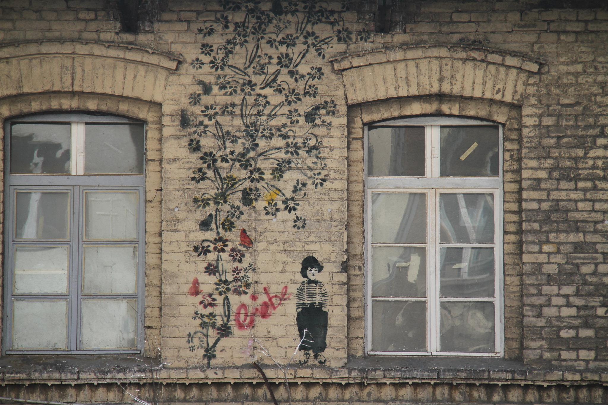 Straßen Kunst aus Berlin Friedrichshain