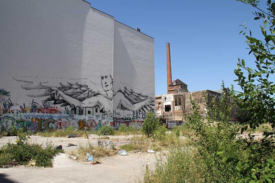 Street Art by Alaniz in Berlin