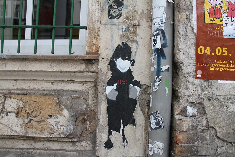 Street Art by Alias in Berlin