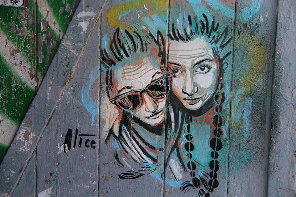 Street Art by Artist: Alice