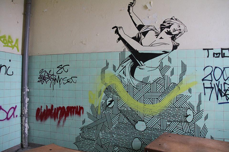 Street Art by Buff Diss in Berlin