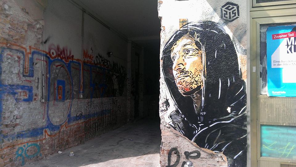 Street Art by C215 in Berlin