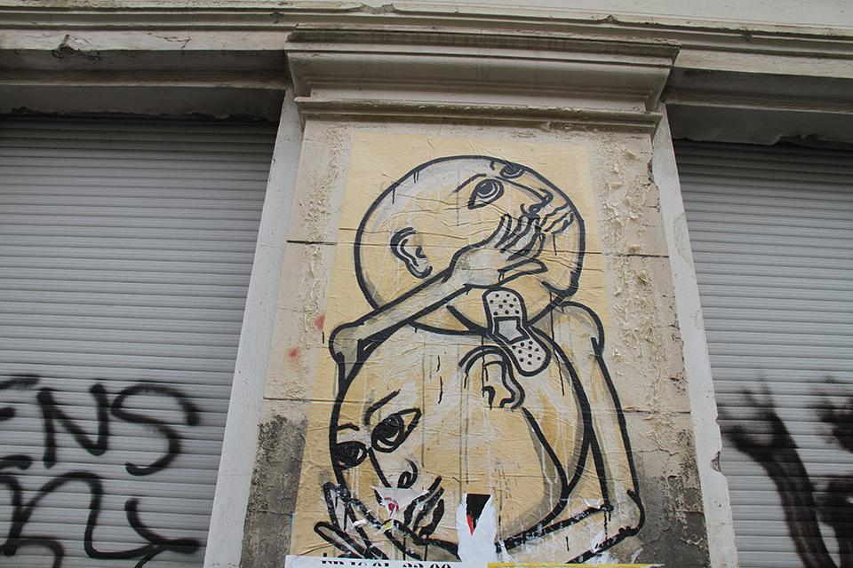Street Art by Artist: DEDE