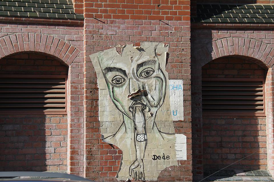 Street Art by Dede in Berlin