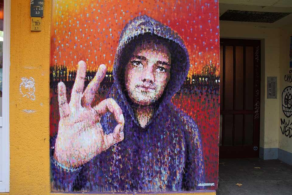 Street Art by Jimmy C in Berlin