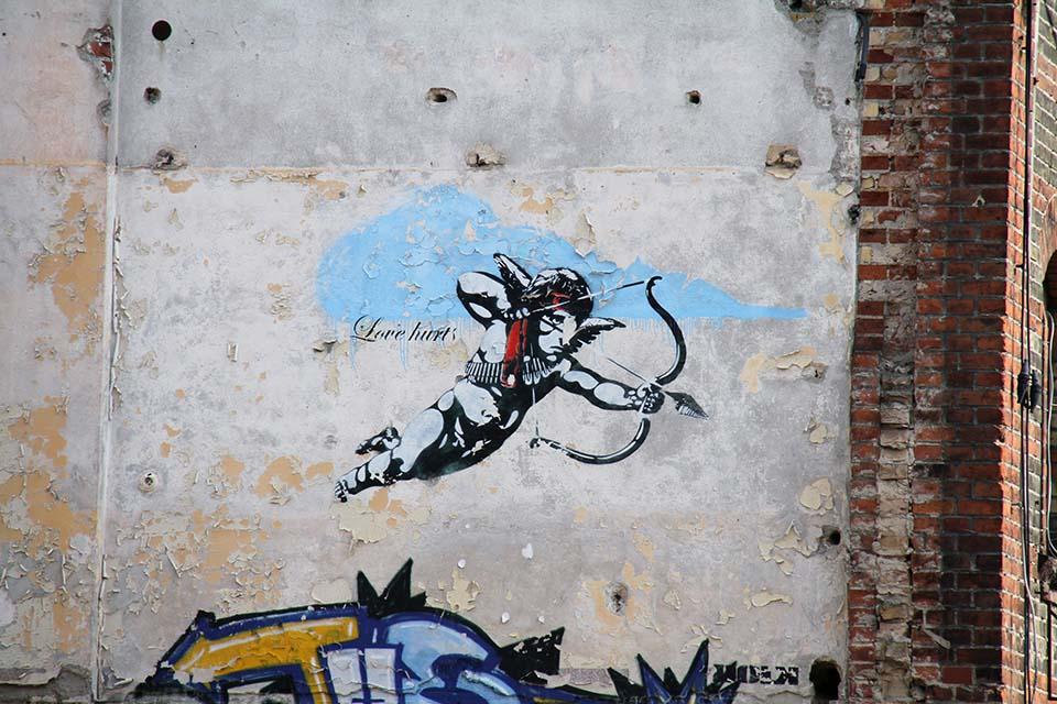 Stencil Art in Berlin