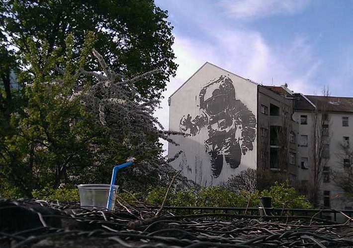 Street Art in Kreuzberg by Victor Ash