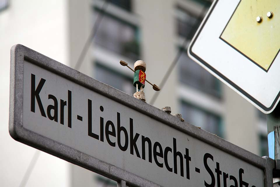 Street Art by Joy Fox in Berlin