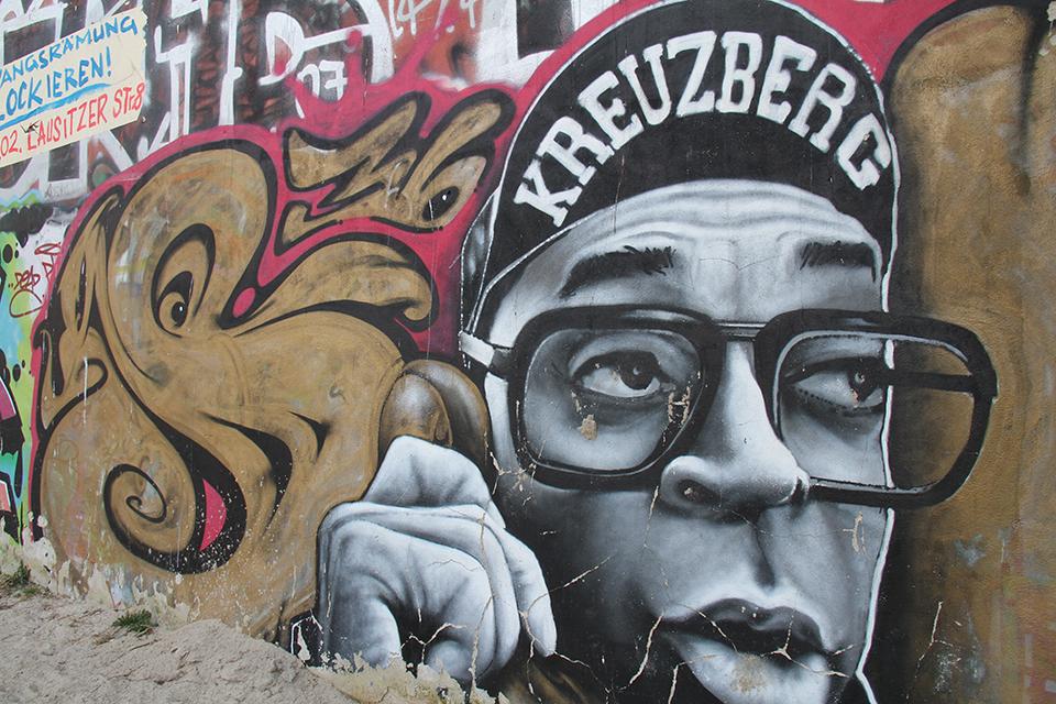 Street Art by MTO in Berlin